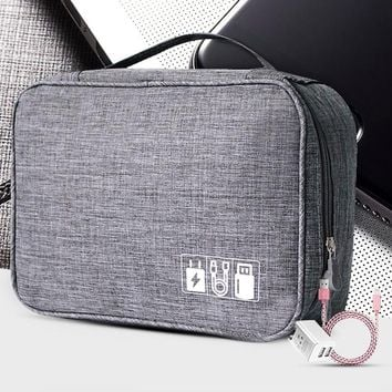 Compartmentalized Digital Travel Bag