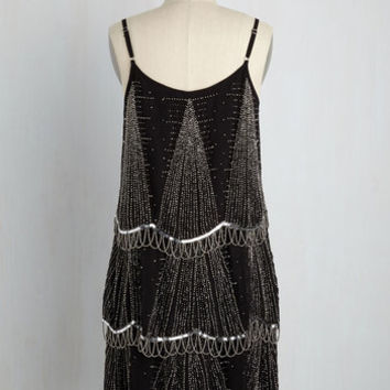 Enigmatic Transmission Dress | Mod Retro Vintage Dresses | ModCloth.com