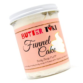 FUNNEL CAKE Whipped Body Soap Fluff - Clearance