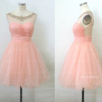 Short prom dress, sexy prom dresses, Cocktail dresses, short bridesmaid dress, prom dresses 2014, dresses for prom, evening dresses, RE327