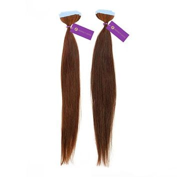 2 x Straight Tape-In Hair Extension Bundle Deal (20 Pieces)
