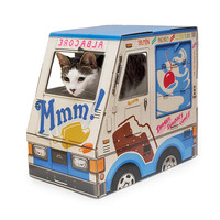 Ice Cream Truck Pet House | cat playhouse