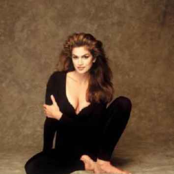 Cindy Crawford Poster Standup 4inx6in