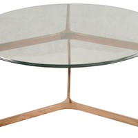 San Clemente Coffee Table ROSE GOLD