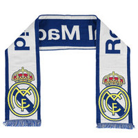 Real Madrid Fan Scarf - White - Adult