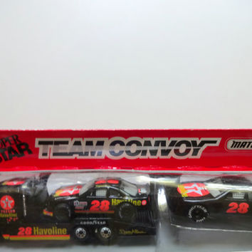 Vintage Davey Allison Matchbox Car Set 1993