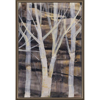 Silver Trees II Giclee on Canvas Artwork by Paragon