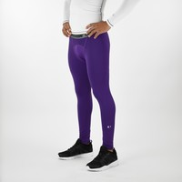 Hue Purple Solid Compression Tights / Leggings