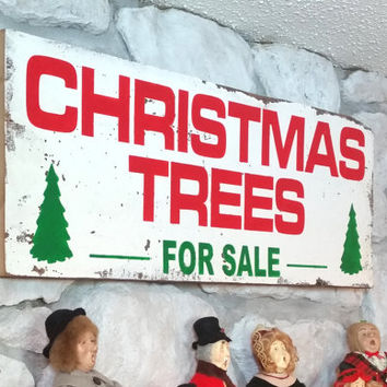 12 x 30 Barn Wood Christmas Trees For Sale Wall Decor Holiday Sign Custom Fixer Upper Joanna Gaines Tree Shabby Chic Home Rustic Gift