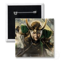 Avengers: Loki Buttons from Zazzle.com