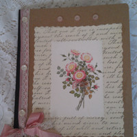 Springtime journal by ColleensCreationsToo on Etsy