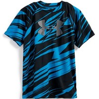 Boy's Under Armour 'Big Logo' UA Tech Short Sleeve Graphic T-Shirt