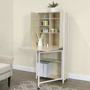 Studio Designs Fold Out Craft and Sewing Machine Table Armoire | Overstock.com Shopping - The Best Deals on Sewing Furniture