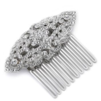 Deco Crystal Hair Comb