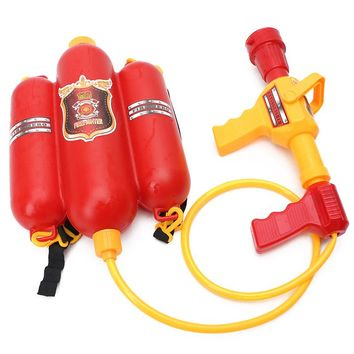 Fireman Backpack Toy Watergun
