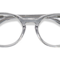 Morning | Gray Clear Acetate Eyeglasses | EyeBuyDirect