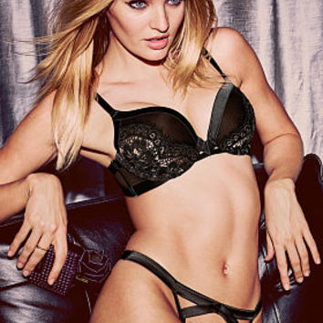 Satin & Lace Push-Up Bra - Very Sexy - Victoria's Secret