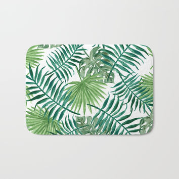 Paradise Bath Mat by Colorful Art