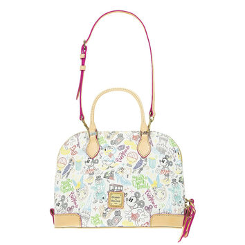 Disney Mickey & Friends Walk in the Park Dooney & Bourke Satchel New with Tags