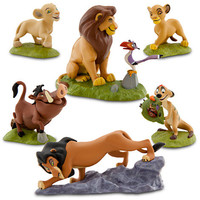 Disney The Lion King Figure Play Set -- 6-Pc. | Disney Store