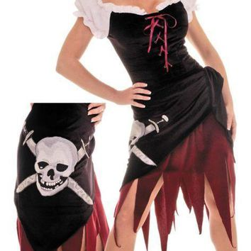 Pirate Wench Sz Large Costume