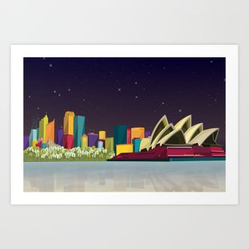City Skyline Collection By Felita Go | Society6