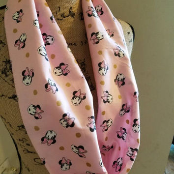 disney - princess - minnie - mouse - infinity  - scarf