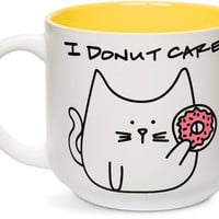 I donut care Cat Coffee Mug