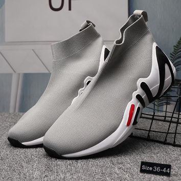 FILA Woman Men Fashion Socks Shoes Sneakers Sport Shoes