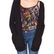 Dragonfly Cardigan Black