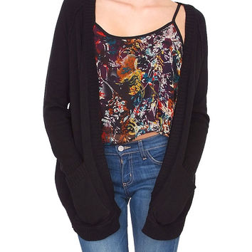 Dragonfly Cardigan - Black
