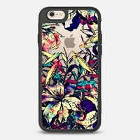Artsy Watercolor Dragon Lilies Floral Foliage  iPhone 6s case by BlackStrawberry | Casetify