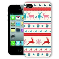ChiChiC Iphone Case, i phone 4 4g 4s case,Iphone4 iphone4g iphone4s covers, plastic cases back cover skin protector,colorful deer