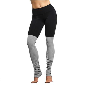 2017 New Candy Color Goddess Ribbed Elastic Waist Band Activewear Legging Wicking Quality Outwear Nylon Spandex Leggins Women