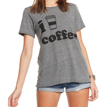 'I Heart Coffee' Short Sleeve Tee