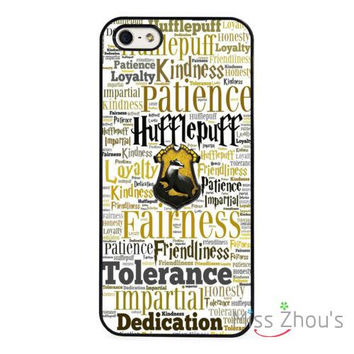 Hufflepuff Hogwarts Harry Potter skins mobile cellphone cases cover for Samsung Galaxy mini S3/4/5/6/7 edge plus Note2/3/4/5
