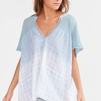 Ecote Festival V-Neck Blouse - Urban Outfitters