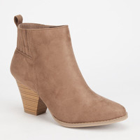 Wild Diva Lylee Western Womens Boots Taupe  In Sizes