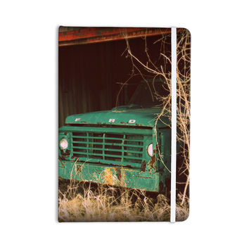 "Angie Turner ""Ford"" Teal Car Everything Notebook"