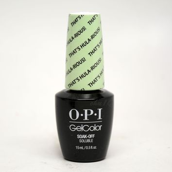 OPI Gel Color Thats Hula-rious H65