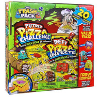 The Trash Pack Putrid Pizza Challenge
