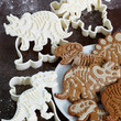 ModCloth Handmade & DIY, Quirky, Scholastic Paleo in Comparison Cookie Cutter Set