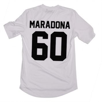 Maradona 60 Legends Shirt White - BALR.
