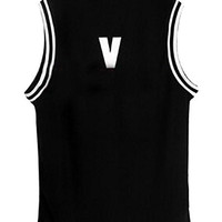Kpop Bangtan Boy BTS Baseball Uniform Tank Top T-shirt M V 95