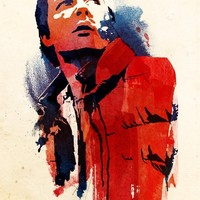 """Marty Mcfly"" - Art Print by Robert Farkas"