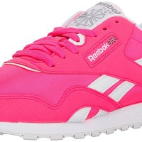 Reebok Women's Cl Nylon Brights Sneaker