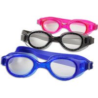 Walmart: Youth Goggles, 3 Pack, Pink, Smoke and Blue