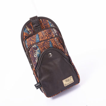 Korean Casual Men Canvas Multi-functioned Outdoors Bags [6542487107]
