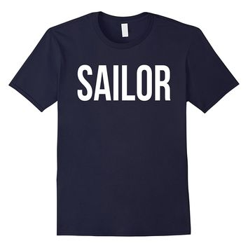 Awesome Sailor T-shirt Best Sailor Costume Ever