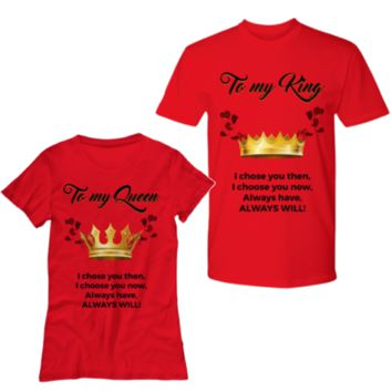 King And Queen Tee